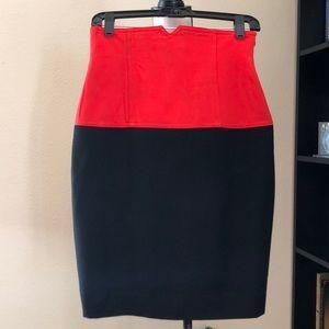 Escada High Waisred Skirt